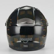 "SCOOZE Helm/Integralhelm ""Dual Visier"" SZ-FF001 Schwarz Gr. M Bild 3"