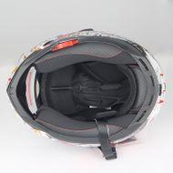 """Helm/Integralhelm """"Dual Visier"""" SZ-FF001 Schwarz Gr. M Bild 4"""