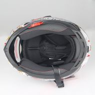 "SCOOZE Helm/Integralhelm ""Dual Visier"" SZ-FF001 Schwarz Gr. M Bild 4"