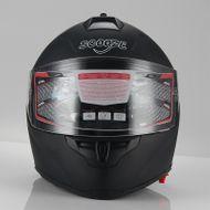 """Helm/Integralhelm """"Dual Visier"""" SZ-FF007 Matt-Schwarz Gr. M Bild 2"""