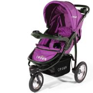 "CROWN ""ST916"" Single-Kinderwagen Jogger PINK Bild 2"