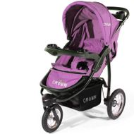"CROWN ""ST916"" Single-Kinderwagen Jogger PINK"