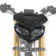 """FORÇA Scheinwerfermaske """"Böser Blick"""" mit integrierten Blinkern für Bossman E-Scooter"""