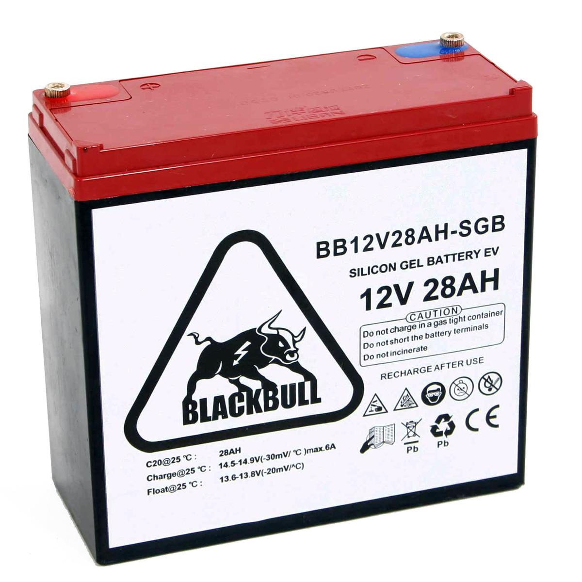 Blackbull pro 12V 28AH Akku Zyklenfest XXL Schraub -SGB