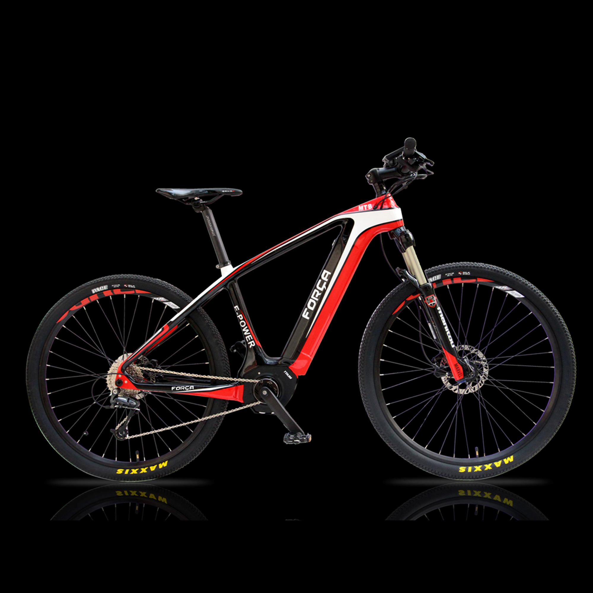 forca e bike karbon 27 5er hardtail mountainbike e bike. Black Bedroom Furniture Sets. Home Design Ideas