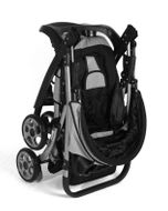 CROWN ST530 Buggy Kinderwagen DUAL-WAY Schwarz