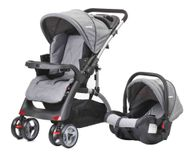 CROWN ST530 Buggy Kinderwagen DUAL-WAY Schwarz Bild 2