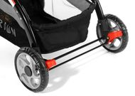 CROWN ST530 Buggy Kinderwagen DUAL-WAY Rot Bild 4