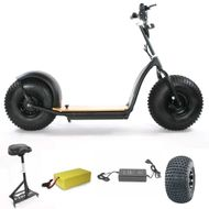 "FORÇA KnuMo ""Allround"" Pro SXX 60V 1500W FAT-WHEEL E-Scooter Grey-Orange Bild 6"