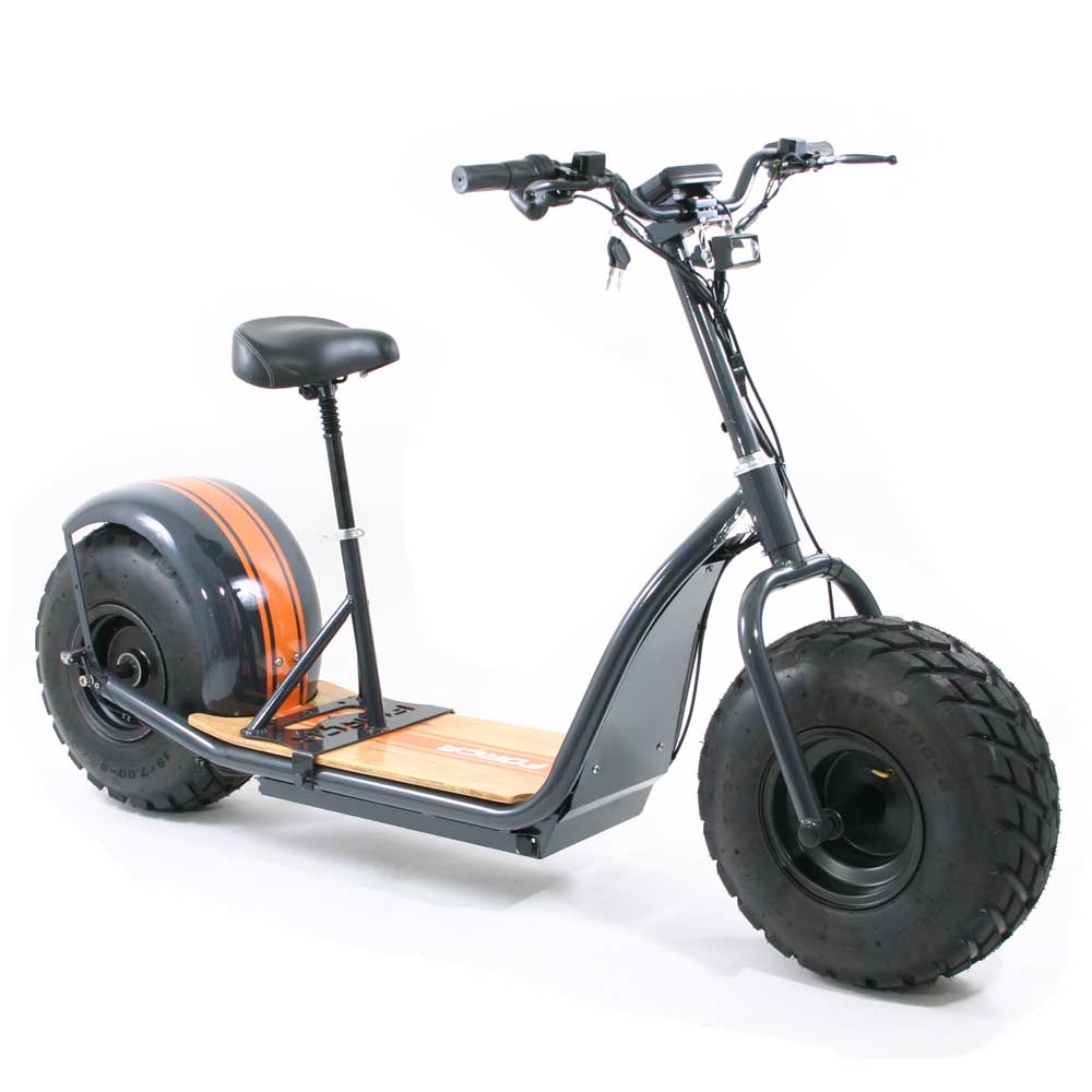 "FORÇA KnuMo ""Offroad"" Pro SXX 60V 1500W FAT-WHEEL E-Scooter Grey-Orange"