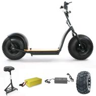 "FORÇA KnuMo ""Offroad"" Pro SXX 60V 1500W FAT-WHEEL E-Scooter Grey-Orange Bild 6"