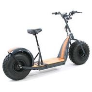 "FORÇA KnuMo ""Cruise"" Pro SXX 60V 1500W FAT-WHEEL E-Scooter Grey-Orange"