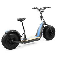 "FORÇA KnuMo ""Allround"" Pro SXX 60V 1500W FAT-WHEEL E-Scooter Black-Blue Bild 2"