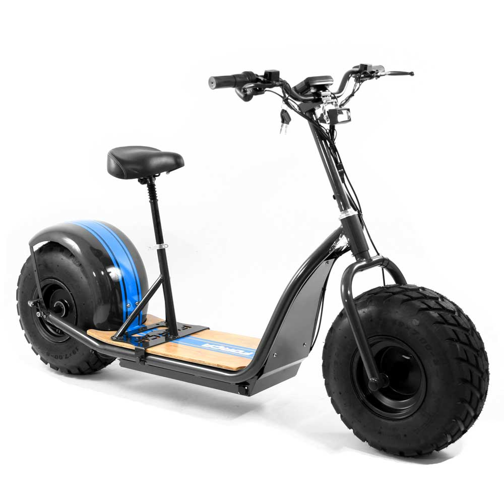 for a knumo cruise fat wheel e scooter mit 60v 1500 watt. Black Bedroom Furniture Sets. Home Design Ideas