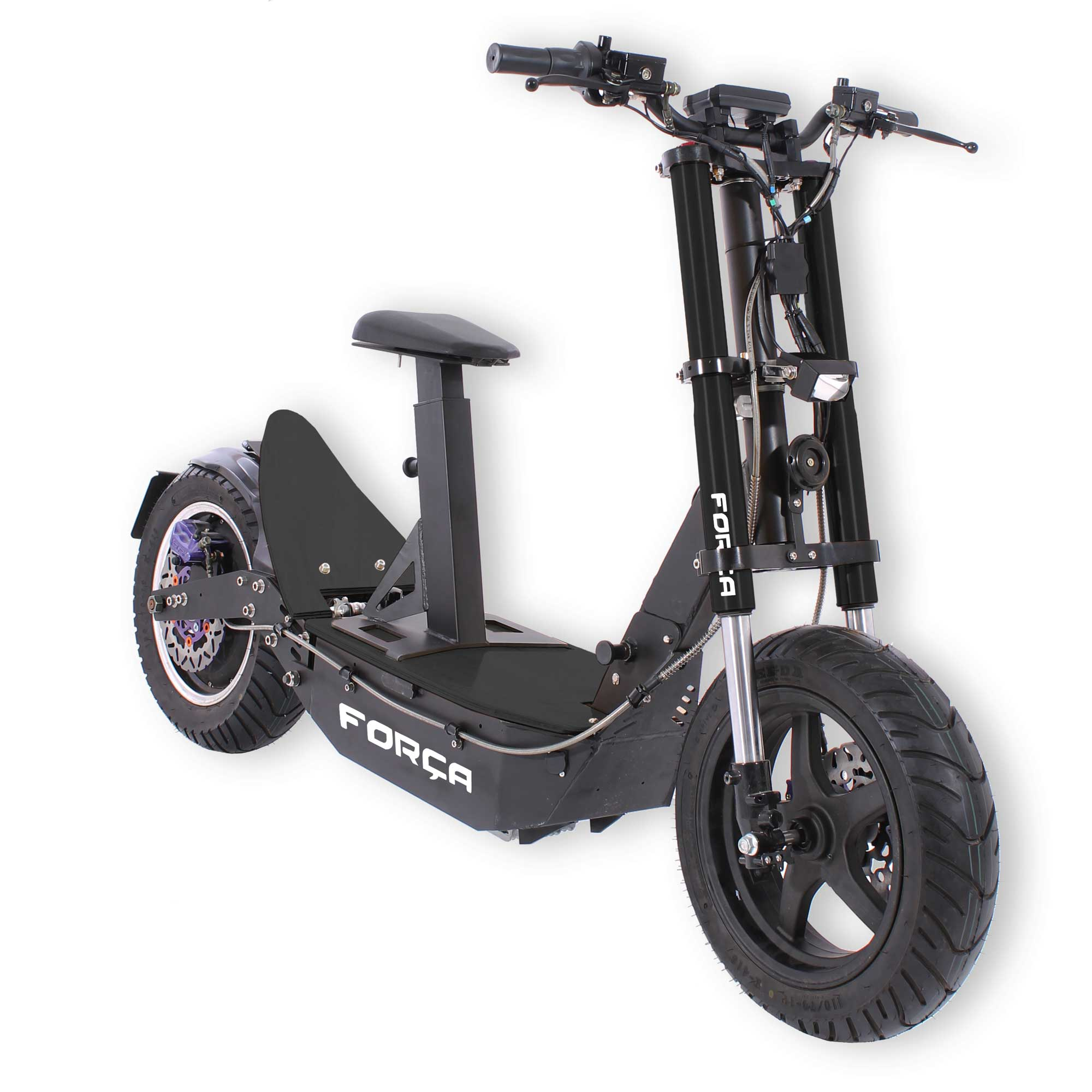 forca bossman xl 2000w sxx pro big wheel scooter schwarz e. Black Bedroom Furniture Sets. Home Design Ideas