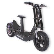 FORÇA Bossman-XL Big Wheel E-Scooter mit 48V 1500 Watt Naben-Motor 17AH Bleigel-Akku und 45 km/h Topspeed in Schwarz