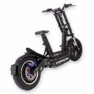 FORÇA Bossman-XL Big Wheel E-Scooter mit 48V 1500 Watt Naben-Motor 17AH Bleigel-Akku und 45 km/h Topspeed in Schwarz Bild 2