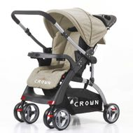 CROWN ST530 Buggy Kinderwagen DUAL-WAY Brown