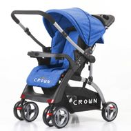 CROWN ST530 Buggy Kinderwagen DUAL-WAY DarkBlue 001