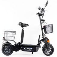 FORÇA CITYSPEEDSTER III 1800 WATT 45 KM/H ElektroScooter mit Strassenzulassung SCHWARZ
