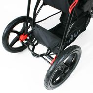 ST920 CROWN Deluxe SportWagen Travel Kinderwagen JOGGER Black-Grey  Bild 6