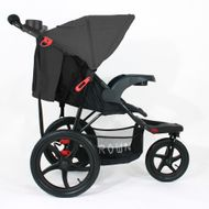 ST920 CROWN Deluxe SportWagen Travel Kinderwagen JOGGER Black-Grey  Bild 2