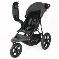 ST920 CROWN Deluxe SportWagen Travel Kinderwagen JOGGER Black-Grey  Bild 5