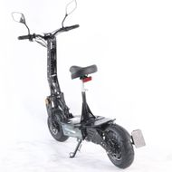 FORÇA Evoking IV Elektro-Scooter mit 30AH LithiumAkku 45km/h Topspeed in Schwarz Bild 5