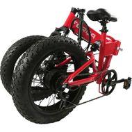"FORÇA E-Bike FOLIBIKE-""X""  20"" Faltfahrrad EBike Crossbike 250Watt 48V RED-Edition Bild 3"