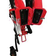 "FORÇA E-Bike FOLIBIKE-""X""  20"" Faltfahrrad EBike Crossbike 250Watt 48V RED-Edition Bild 4"