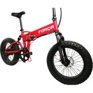 "FORÇA E-Bike FOLIBIKE-""X""  20"" Faltfahrrad EBike Crossbike 250Watt 48V RED-Edition Bild 2"