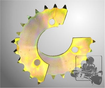 SPLIT-TO-FIT SPROCKET 22T