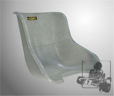 Tillett Sitz T8, Größe ML, white fibre