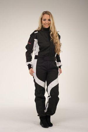 keep-racing Kart overalls, Model Cruiser, black/white, size 36(JS) – Bild 2