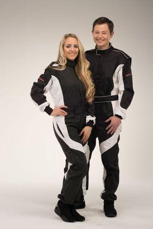 keep-racing Kart overalls, Model Cruiser, black/white, size 44(JL) – Bild 1