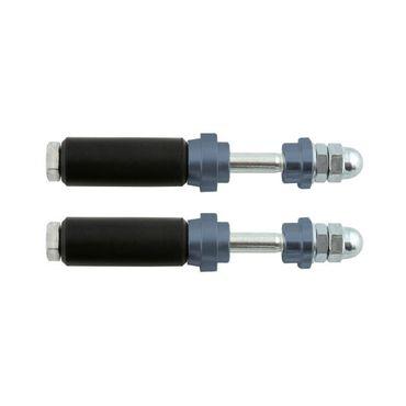 Schraubensatz für Heckauffahrschutz XTR14 & KG, 30mm, titan