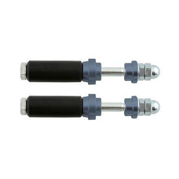 Schraubensatz für Heckauffahrschutz XTR14 & KG, 32mm, titan
