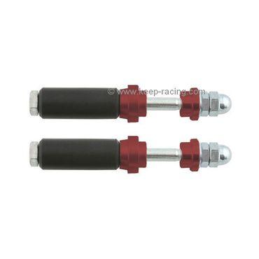 Schraubensatz für Heckauffahrschutz XTR14 & KG, 32mm, rot