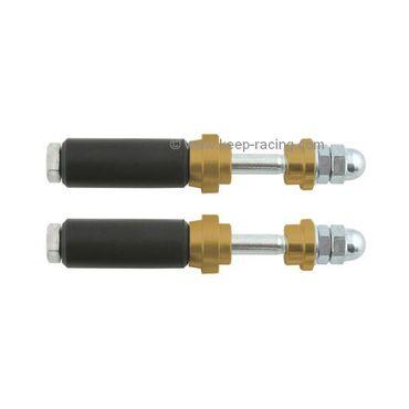 Schraubensatz für Heckauffahrschutz XTR14 & KG, 30mm, gold