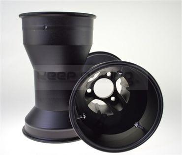 Aluminium Felgen, keep-racing®, 5 Zoll, 210mm, schwarz, Speichendesign, Satz(2 Stück)