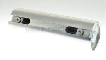 Hülse für 50mm Achse, Abstützung für Kettenblattaufnahme KZ, 140mm lang