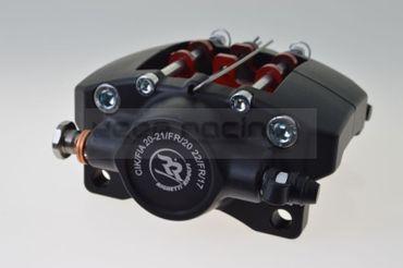 Bremssattel MA20 hinten, schwarz eloxiert – Bild 1