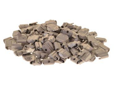 100 x Auswuchtgewichte 10g für Stahl-Felgen, Zink (ZN)