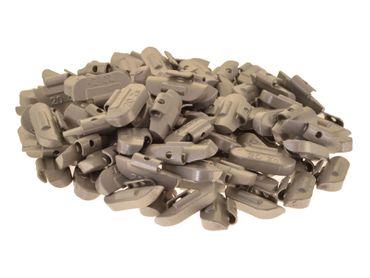 100 x Auswuchtgewichte 20g für Stahl-Felgen, Zink (ZN)