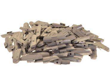 100 x Auswuchtgewichte 30g für Stahl-Felgen, Zink (ZN)