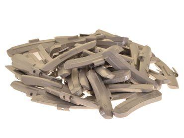 50 x Auswuchtgewichte 50g für Stahl-Felgen, Zink (ZN)