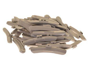 50 x Auswuchtgewichte 55g für Stahl-Felgen, Zink (ZN)