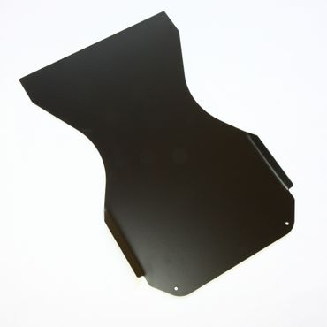 ALUM. FLOOR TRAY FOR MINI-KART 950mm, CSAI HOMOL., BLACK