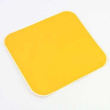 ADHESIVE NUMBER PLATE COL. YELLOW