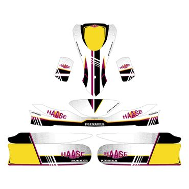SET OF HAASE GRAPHICS FOR JUNIOR MK14 - DUO